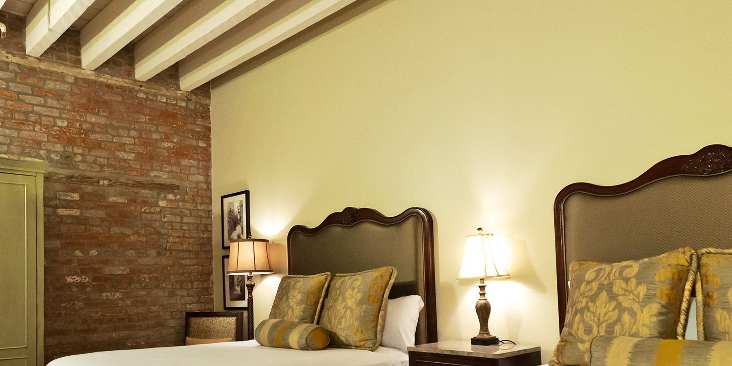 guest rooms at the French Market Inn