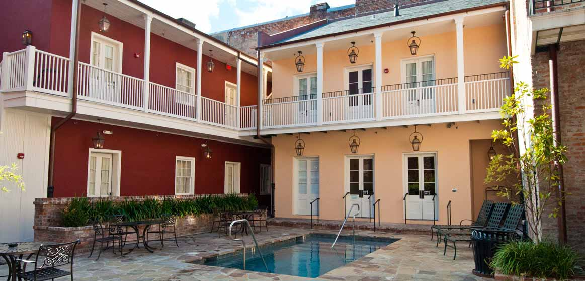 French Quarter Hotel in New Orleans French Market Inn – New Orleans French Quarter Tourist Map