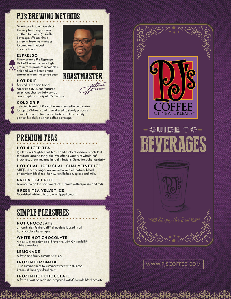 PJs 2016 Beverage Guide