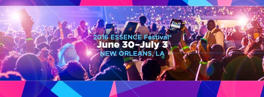 essence festival banner