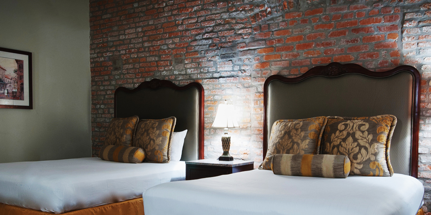 Relaxing hotel rooms in New Orleans