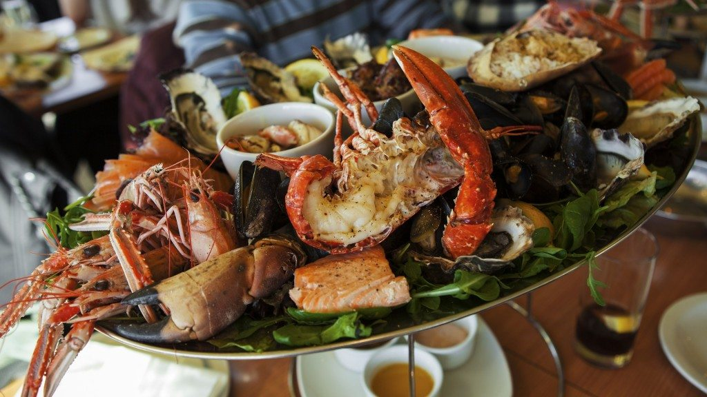 Seafood Restaurants Within Walking Distance of the French Market Inn